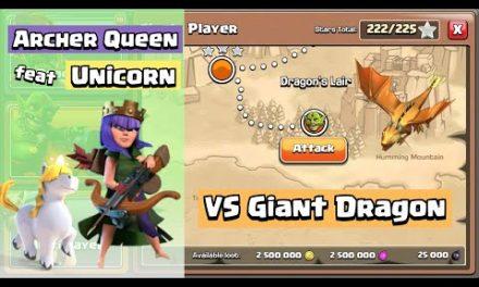 Archer Queen feat Unicorn VS Goblin Maps | Clash of Clans