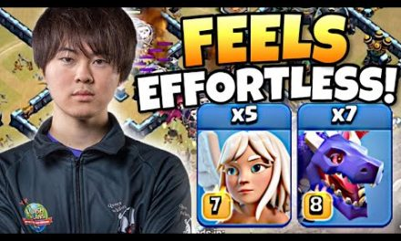 GAKU's Dragon attacks are SO SMOOTH! Simply AMAZING! Clash of Clans eSports | NACC $10,000 Prize