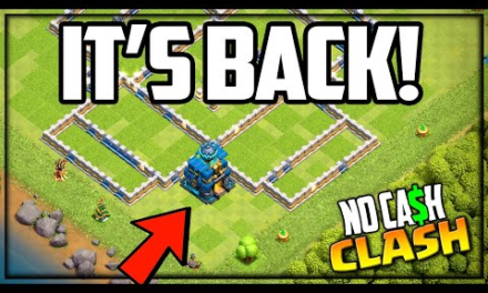 The TROLL Base RETURNS to Town Hall 12! Clash of Clans No Cash Clash