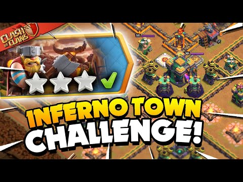 Easily 3 Star the Inferno Town Challenge (Clash of Clans)