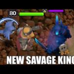 New Savage King Skin New Season Update!! | Clash Of Clans |
