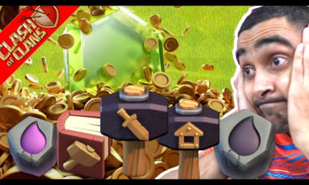 Spending Everything For Update! Clash of Clans-coc