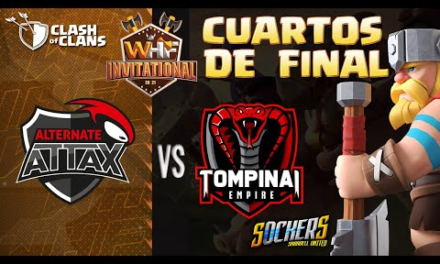 🔴LIVE  WHF 4TOS | TOMPINAI EMPIRE VS ATN.ATTAX | CLASH OF CLANS | CASTER SOCKERS