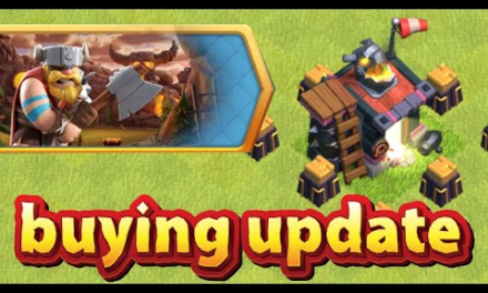 Buying the New Update!!   Clash Of Clans  