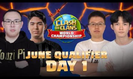 Clash Worlds June Qualifier Day 1 | Clash of Clans