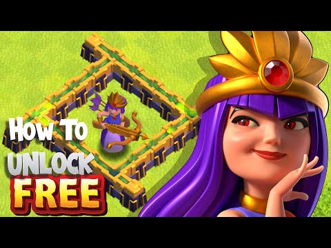"""How to Get the New Jungle """"SNAKE QUEEN""""  skin """"Clash Of Clans"""""""