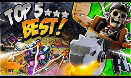 NEW Top 5 TH13 Attack Strategy After June 2021 Update!  (Clash of Clans)