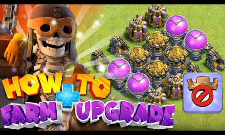 How to Upgrade and Farm without hero!!!   Clash Of Clans  