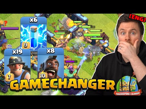 PROs make QC HYBRID work with this TRICK   Clash of Clans