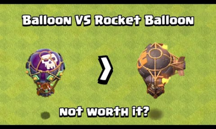Just Stick with Normal Balloon | Balloon VS Rocket Balloon | Clash of Clans