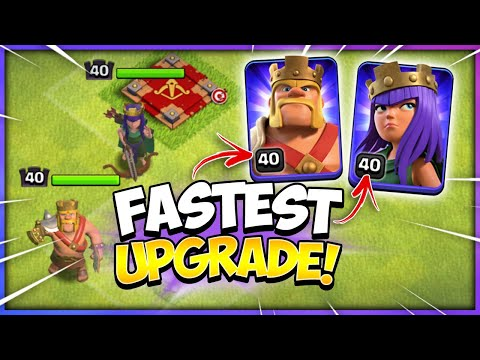 Secrets to Upgrade Heroes at TH10 (Clash of Clans)