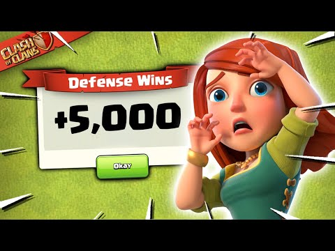 Over 5,000 Defenses in One Month (Clash of Clans)