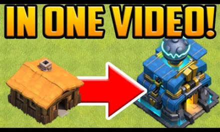GEM TO MAX! Town Hall 1 to 12 in ONE VIDEO! Clash of Clans Gem Spree