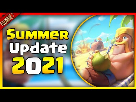 Coc Summer Update 2021 | New Troop | Coc New Update | Clash Of Clans