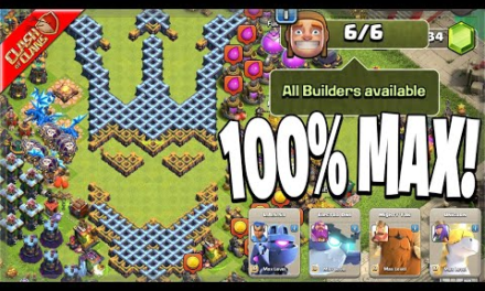 My Town Hall 14 is 100% Maxed!…for now (Clash of Clans)