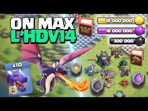 ON MAX L'HDV 14 ! ÉPISODE 2 ! Clash of Clans