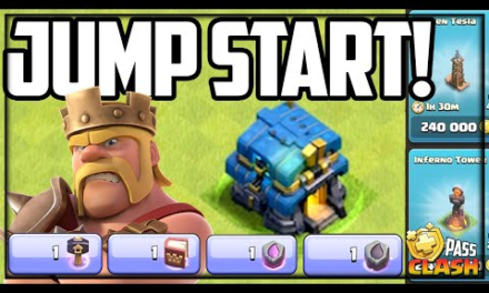 FAST Start to TOWN HALL 12! Gold Pass Clash of Clans