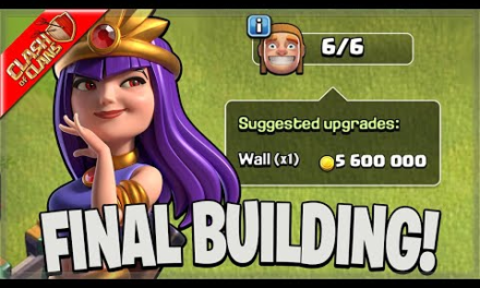 MY TOWN HALL 14 HAS MAX BUILDINGS! (Clash Of Clans)