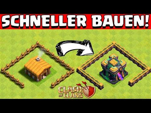 SCHNELLER DAS DORF AUSBAUEN! 💪😍 2021 Update Version * Clash of Clans