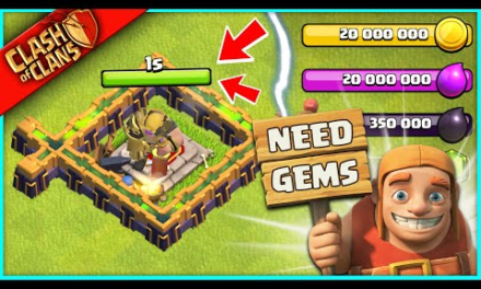 …I JUST BOUGHT THE MOST EXPENSIVE ITEM IN CLASH OF CLANS FOR NO REASON, BECAUSE ITS GEM DAY