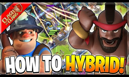 How to Use the Hybrid Attack! (Clash of Clans)