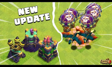 New Update Clash of Clans – COC