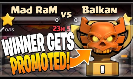 IT ALL COMES DOWN TO THIS FOR CHAMPS 1! (Clash of Clans)