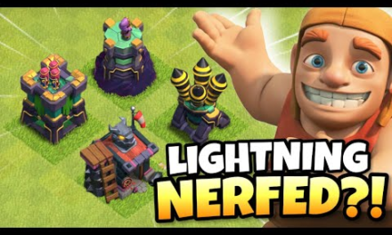 NEW TROOP and DEFENSE LEVELS is a NERF to Lightning! Summer 2021 Update   Clash of Clans