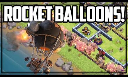 ROCKET BALLOON! Clash of Clans UPDATE New Super Troop!