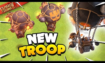 New Rocket Balloon Super Troop Explained (Clash of Clans)