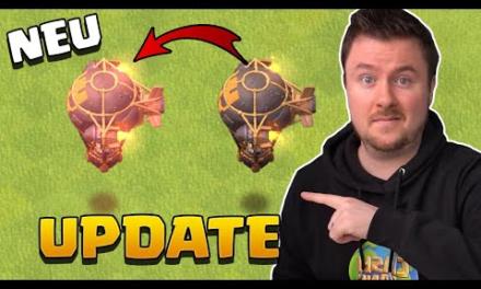 Sommer Update Sneak Peek #2   NEUER Raketenballon ÄNDERT ALLES   Clash of Clans deutsch