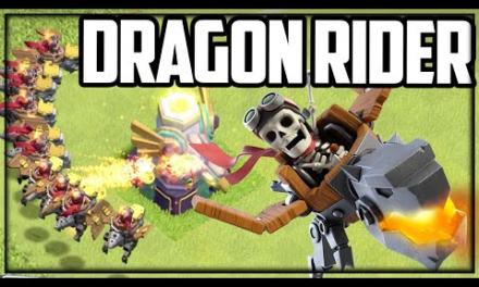 NEW TROOP: Dragon RIDER! Clash of Clans UPDATE!