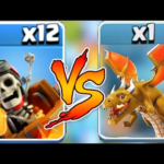 """END BOSS DRAGON vs. DRAGON RIDER """"Clash Of Clans"""" NEW UPDAtE COC"""