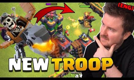 NEW Troop – DRAGON RIDER explained | Summer Update Sneak Peek #3 | Clash of Clans English