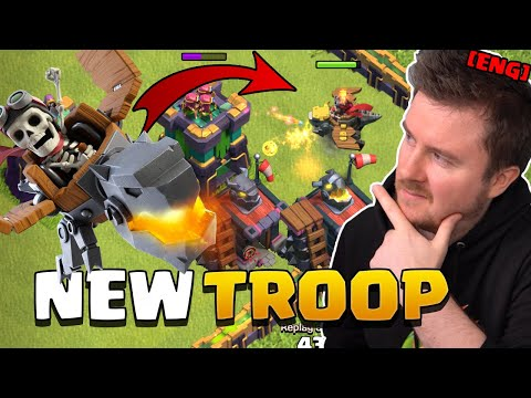 NEW Troop – DRAGON RIDER explained   Summer Update Sneak Peek #3   Clash of Clans English