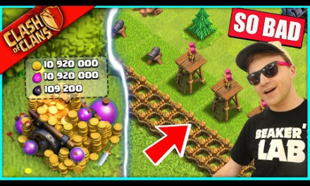 MY WORST CLASH OF CLANS BASE IS BACK… AND OMG IT'S AMAZING NOW!! (just kidding its still garbage)