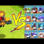 New Dragon rider Troop vs. Every Troop in the Game!  | Clash Of Clans |