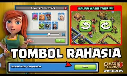 ADA 3 TOMBOL RAHASIA BARU | UPDATE BESAR CoC