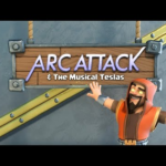 ArcAttack & The Musical Mega Teslas! (Clash Of Clans)