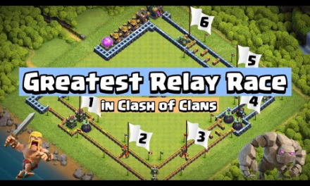 Clash of Clans Relay Race