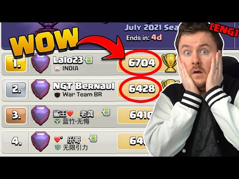 RANK 1 Player shares his SECRETS in Clash of Clans