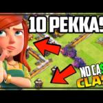 CRAZIEST Farming Army in Clash of Clans! No Cash Clash #199