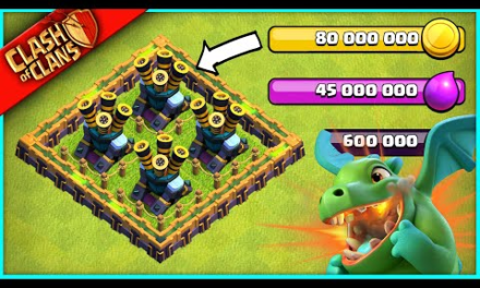 I BOUGHT THE MOST OVERPRICED AIR DEFENSE IN CLASH OF CLANS HISTORY (80,000,000 GOLD)