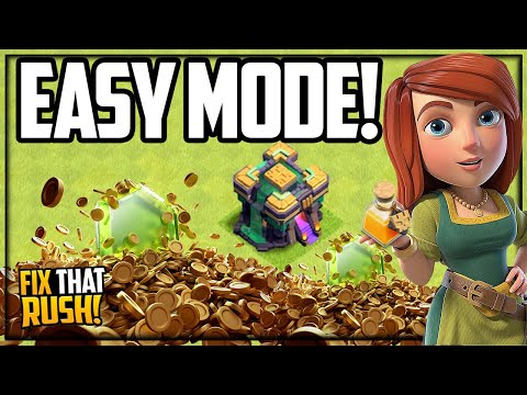 Town Hall 14 on EASY MODE in Clash of Clans!
