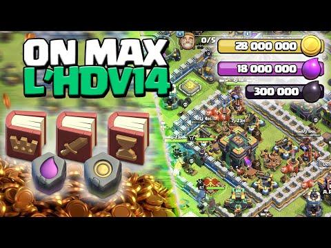ON MAX L'HDV 14 ! Épisode 4 ! Clash of Clans