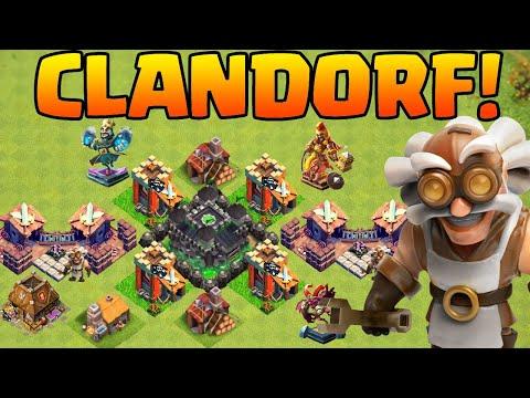 DAS CLANDORF! * Clash of Clans * CoC * Update Konzept