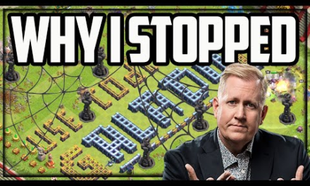 I STOPPED Playing Clash of Clans (Not Clickbait – Not Forever!)