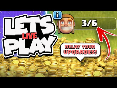 Biggest Upgrade Mistake Ever! TH12 F2P Series Live! (Clash of Clans)