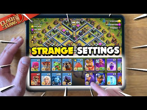 Attacking with the Strangest Settings in Clash of Clans
