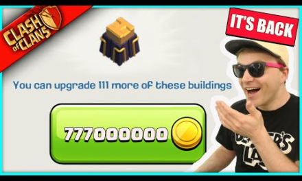 I UPGRADED THE MOST OVERPRICED WALLS IN CLASH OF CLANS… FOR THE LOW LOW PRICE OF 777,000,000 :(